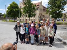 Ankunft in Jena am 8. Juni