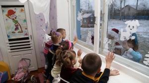 Cholmy Kindergarten, Warten auf Weihnachtsmann