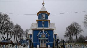 Kirche in Wydrenko (Sperrzone)